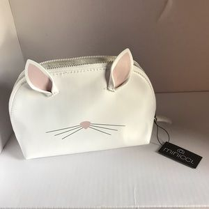 NWT Bunny/Kitty White purse